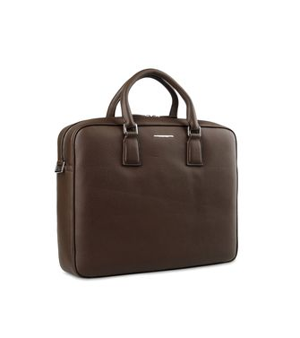 ERMENEGILDO ZEGNA: Office and laptop bag Dark brown - 45219104KS