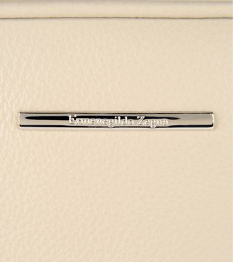 ERMENEGILDO ZEGNA: Office and laptop bag Ivory - 45219106EA