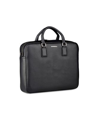 ERMENEGILDO ZEGNA: Office and laptop bag Black - 45219109IX