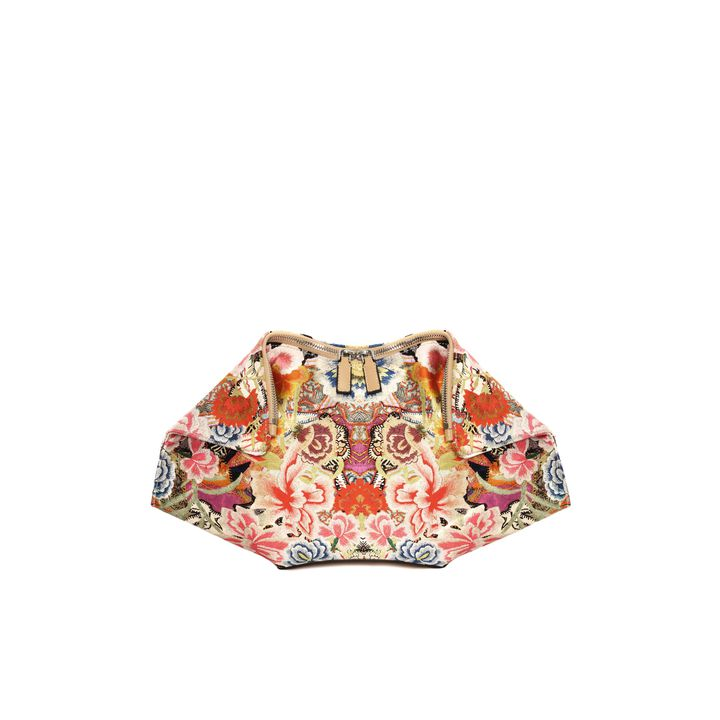 Alexander McQueen, Patchwork Floral De Manta Clutch
