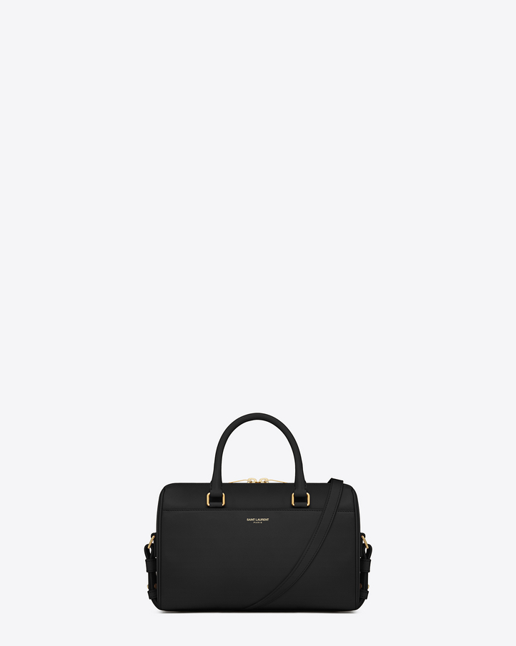 royal blue purse clutch - Saint Laurent CLASSIC BABY DUFFLE BAG IN Black LEATHER | YSL.com