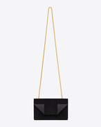 Classic Small Betty Bag In Black Suede And Leather