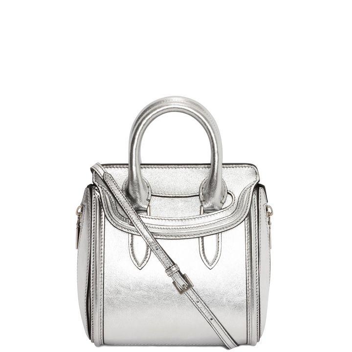 Alexander McQueen, Mini sac Heroine métallisé