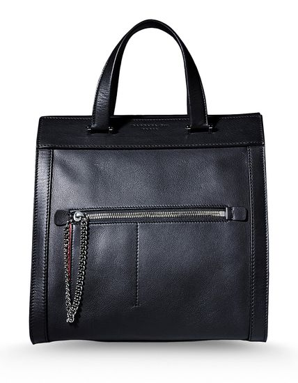 """Leather """"Let It Be"""" bag"""