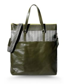Large leather bag - KART