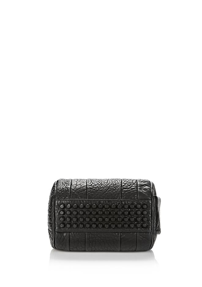ALEXANDER WANG ROCKIE IN PEBBLED BLACK WITH MATTE BLACK Shoulder bag Adult 12_n_e