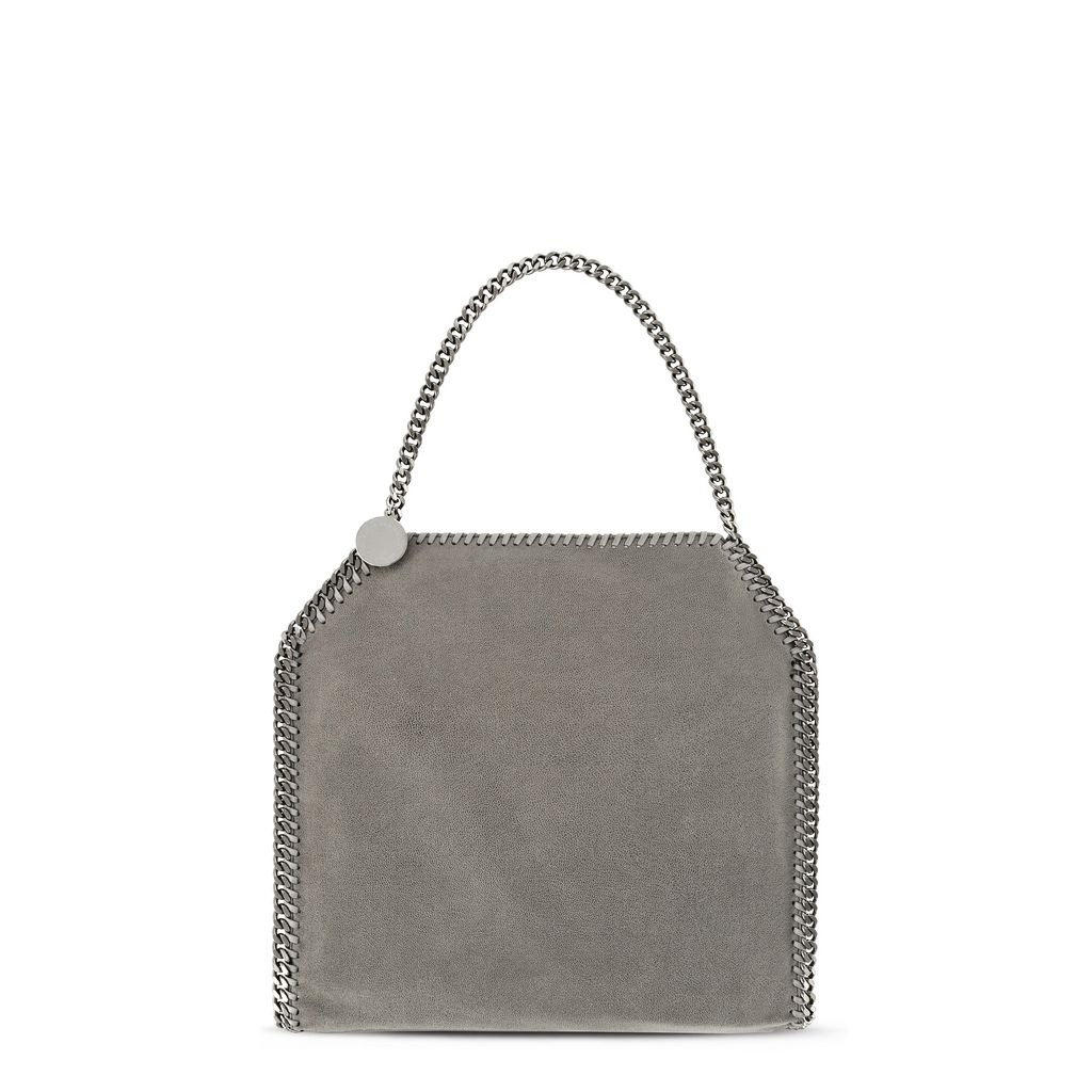 Light Grey Falabella Shaggy Deer Small Tote