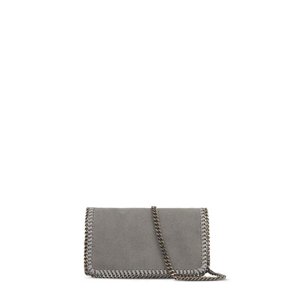 Light Grey Falabella Cross Body Bag