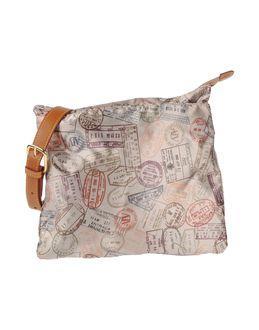 ALV ANDARE LONTANO VIAGGIANDO - СУМКИ - Средние сумки из текстиля