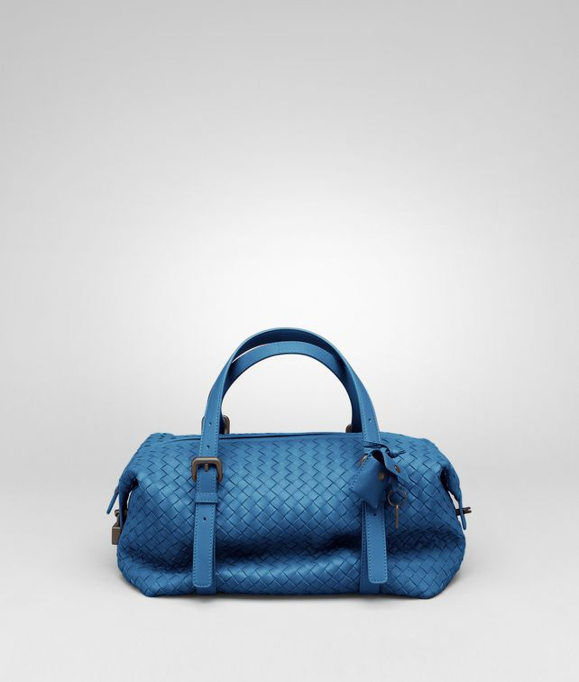 BOTTEGA VENETA Électrique Intrecciato Nappa Montaigne Bag Top Handle Bag D fp