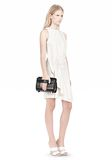 ALEXANDER WANG CHASTITY IN BLACK WITH RHODIUM Shoulder bag Adult 8_n_a
