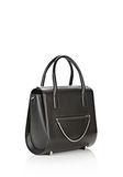 ALEXANDER WANG LARGE CHASTITY IN BLACK WITH RHODIUM  TOTE Adult 8_n_e