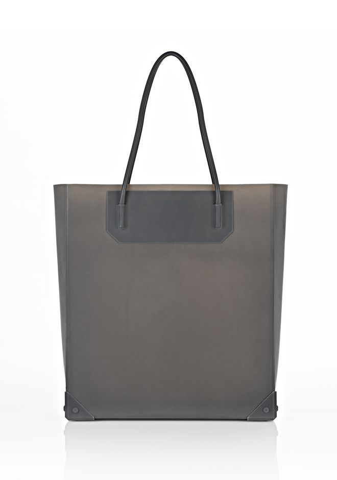 ALEXANDER WANG PRISMA MOLDED TOTE IN SESAME