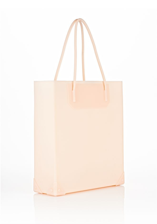 ALEXANDER WANG PRISMA MOLDED TOTE IN ROSE TOTE Adult 12_n_e