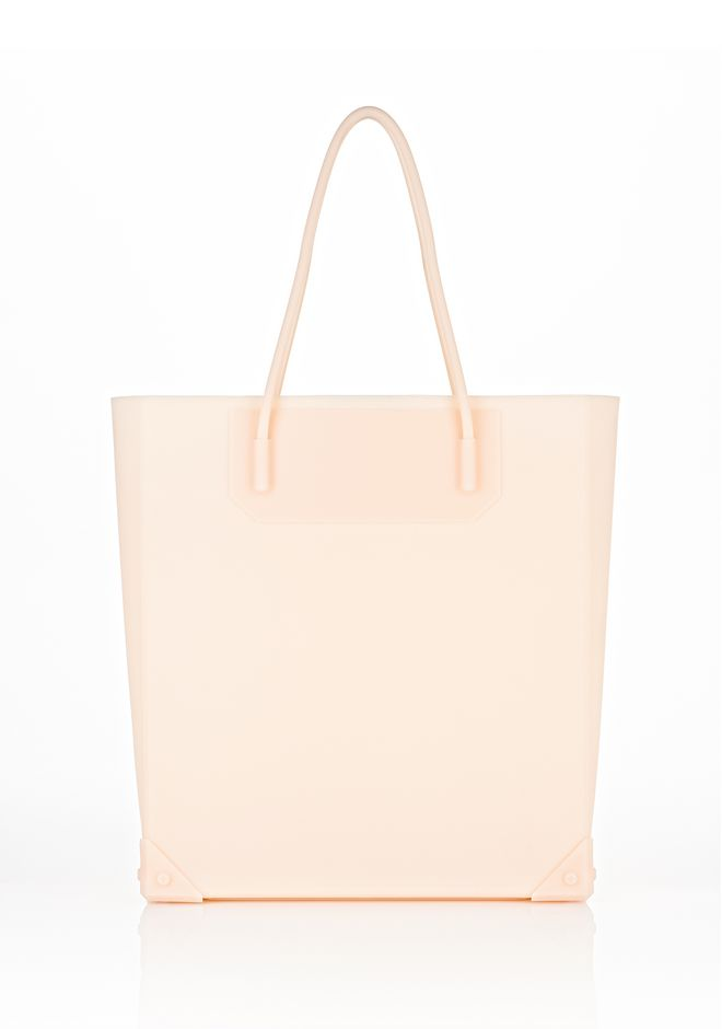 ALEXANDER WANG PRISMA MOLDED TOTE IN ROSE TOTE Adult 12_n_f