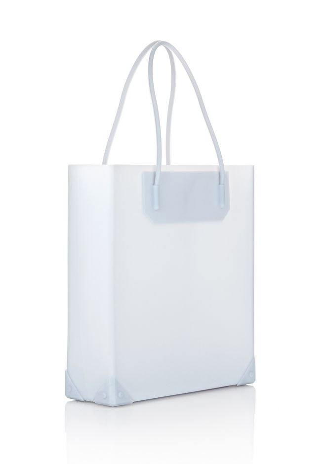 ALEXANDER WANG PRISMA MOLDED TOTE IN ICING TOTE Adult 12_n_e