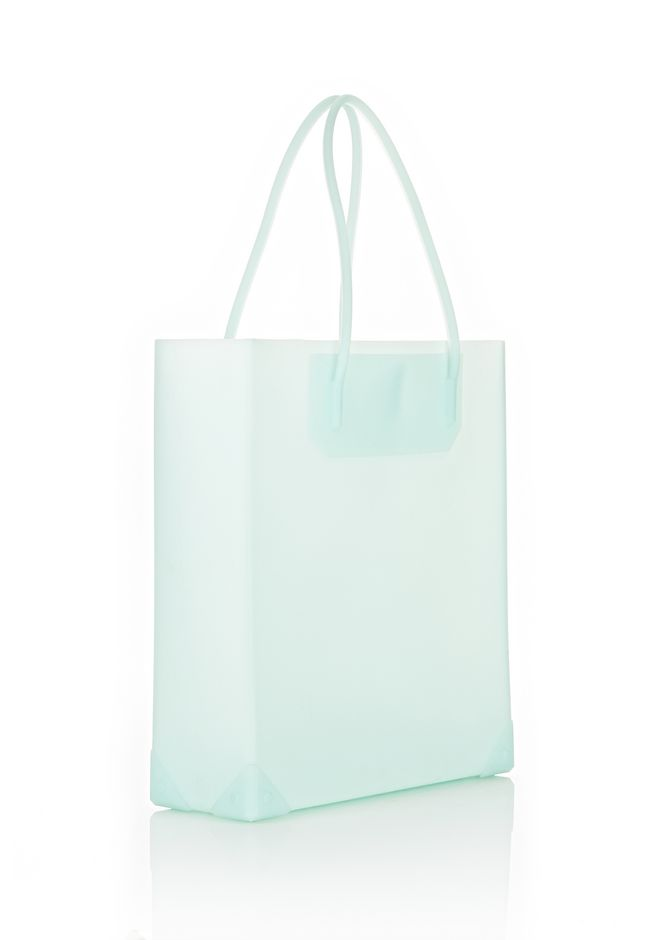 ALEXANDER WANG PRISMA MOLDED TOTE IN PEPPERMINT TOTE Adult 12_n_e