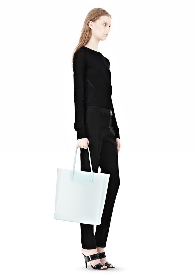 ALEXANDER WANG PRISMA MOLDED TOTE IN PEPPERMINT TOTE Adult 12_n_r