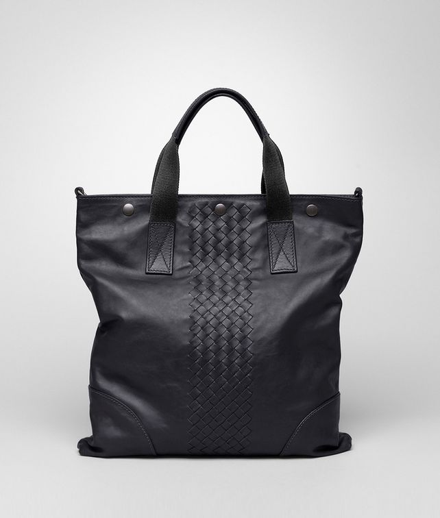 Tourmaline Light Calf Intrecciato Tote