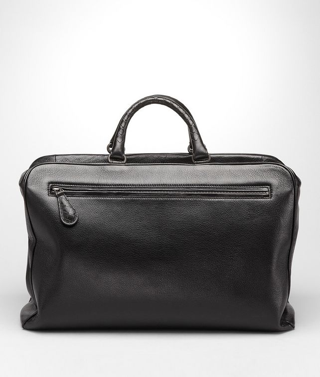BOTTEGA VENETA NERO MADRAS HERITAGE BRIEFCASE Business bag U fp