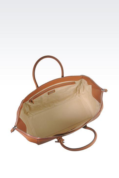 WEEKEND BAG IN GRAINED CALFSKIN: Weekender bags Men by Armani - 3