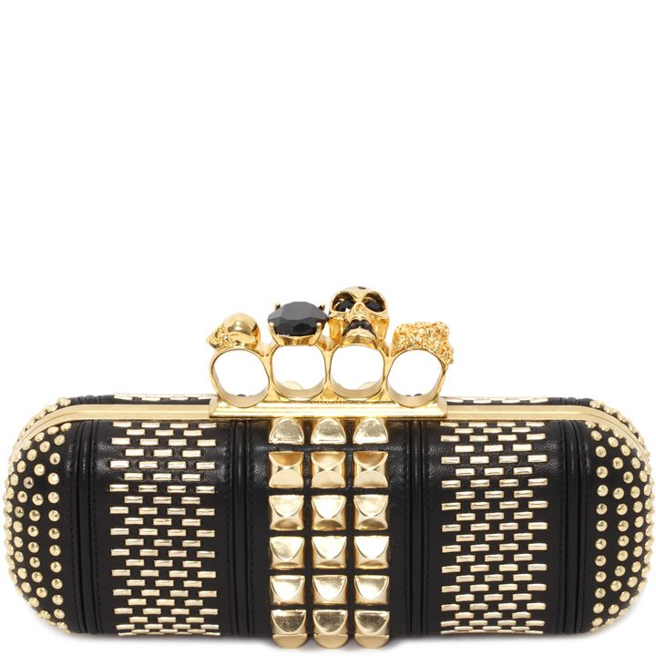 Alexander McQueen, Knucklebox Clutch Déco
