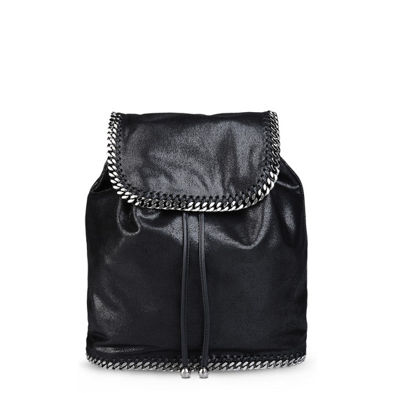 black falabella shaggy deer backpack stella mccartney. Black Bedroom Furniture Sets. Home Design Ideas