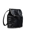 Stella McCartney - Black Falabella Shaggy Deer Backpack - PE15 - r
