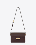Classic Medium Lulu Bag In Bordeaux Leather