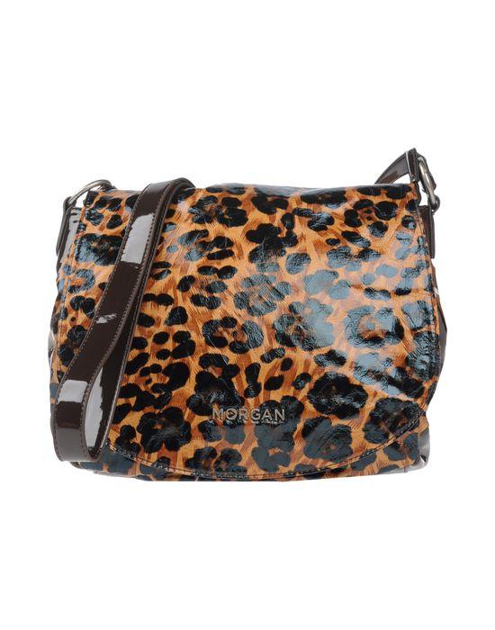 Сумка через плечо MORGAN за 5200 руб, цвет коричневый, состав пвх. сумки через плечо, средний размер...