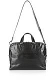 ALEXANDER WANG BRIEFCASE IN WAXY BLACK WITH MATTE BLACK Travel Adult 8_n_e
