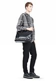 ALEXANDER WANG BRIEFCASE IN WAXY BLACK WITH MATTE BLACK Travel Adult 8_n_r