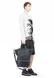 ALEXANDER WANG EXPLORER TOTE IN  BLACK WITH RHODIUM Travel Adult 8_n_r