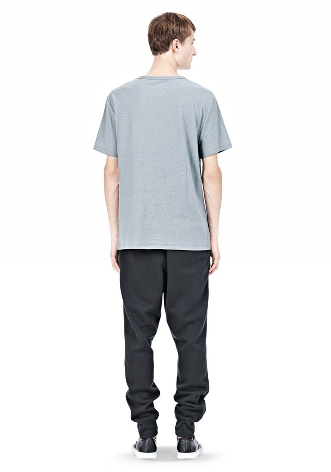 T by ALEXANDER WANG SLUB COTTON JERSEY TEE WITH CHEST POCKET TEE Adult 12_n_r