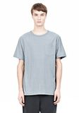 T by ALEXANDER WANG SLUB COTTON JERSEY TEE WITH CHEST POCKET TEE Adult 8_n_e
