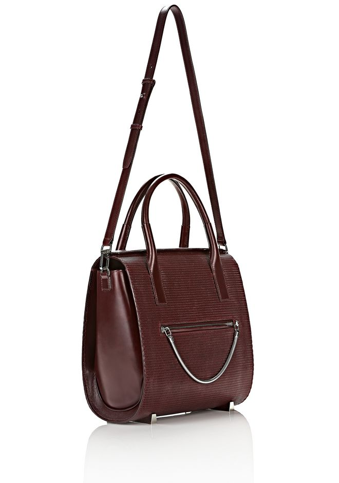 ALEXANDER WANG LARGE CHASTITY IN CORDOVAN WITH RHODIUM TOTE Adult 12_n_e