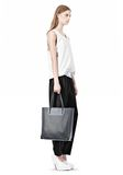 ALEXANDER WANG PRISMA TOTE IN EXHAUST WITH MATTE BLACK  TOTE Adult 8_n_r