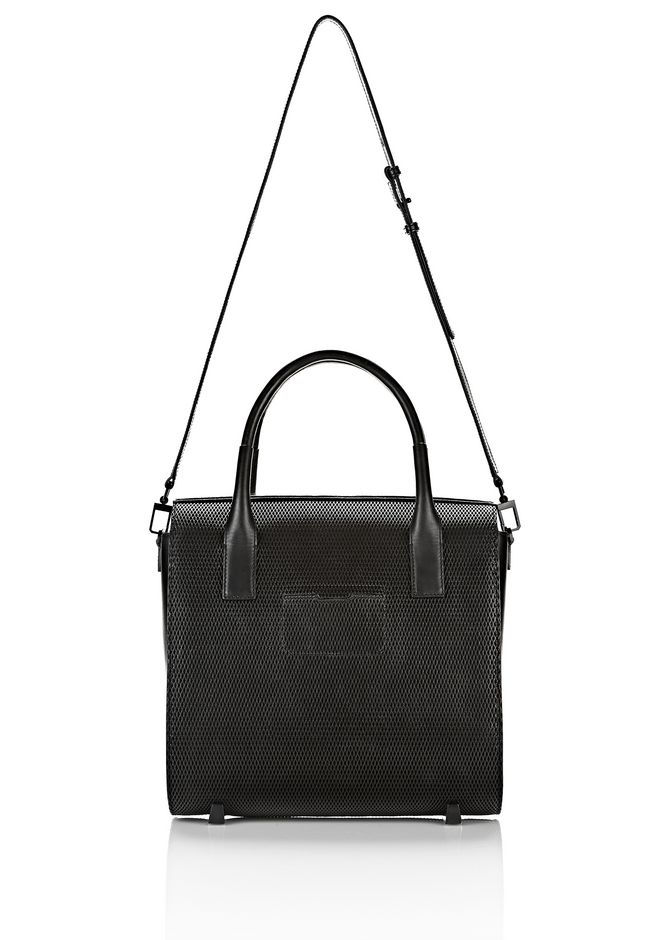 ALEXANDER WANG LARGE CHASTITY IN BLACK WITH MATTE BLACK TOTE Adult 12_n_a