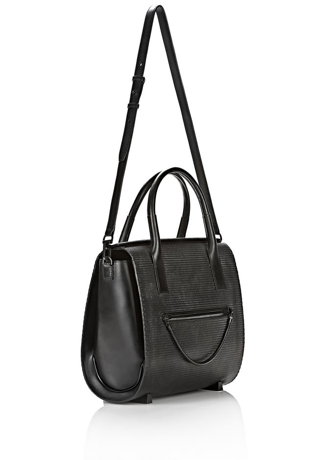 ALEXANDER WANG LARGE CHASTITY IN BLACK WITH MATTE BLACK TOTE Adult 12_n_e