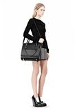 ALEXANDER WANG LARGE CHASTITY IN BLACK WITH MATTE BLACK TOTE Adult 8_n_r