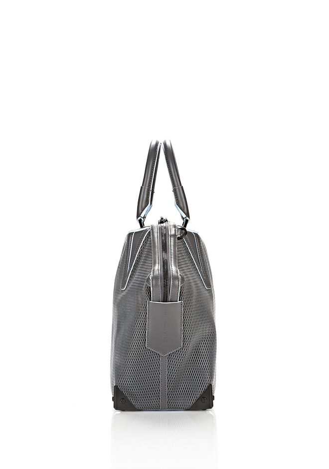 ALEXANDER WANG EMILE TOTE IN  EXHAUST WITH MATTE BLACK TOTE Adult 12_n_d