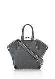 ALEXANDER WANG EMILE TOTE IN  EXHAUST WITH MATTE BLACK TOTE Adult 8_n_f