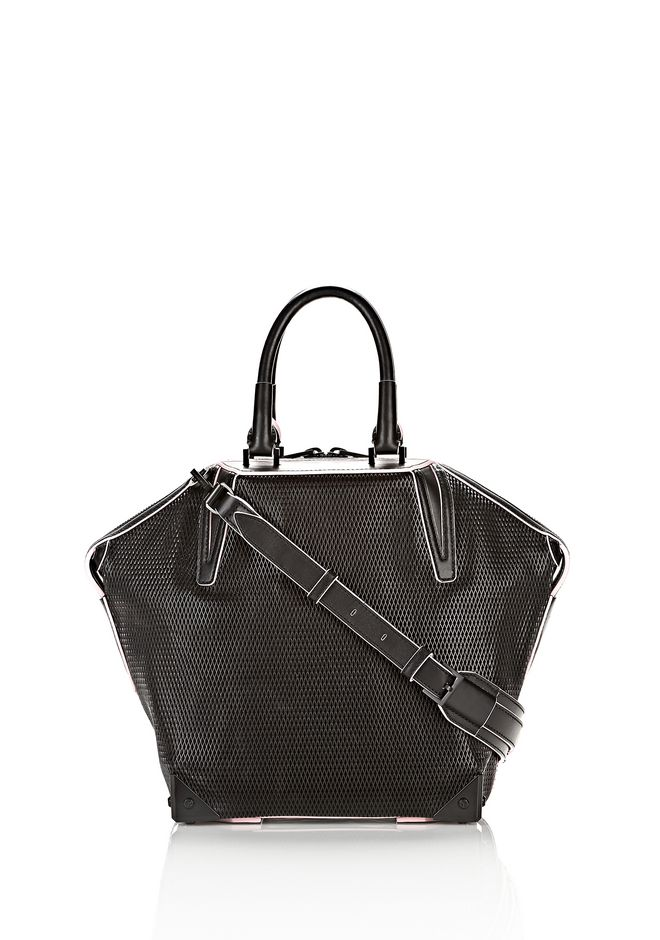 ALEXANDER WANG EMILE TOTE IN BLACK WITH MATTE BLACK