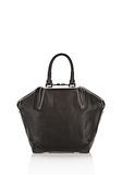 ALEXANDER WANG EMILE TOTE IN BLACK WITH MATTE BLACK TOTE Adult 8_n_a