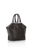 ALEXANDER WANG EMILE TOTE IN BLACK WITH MATTE BLACK TOTE Adult 8_n_e