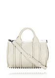ALEXANDER WANG INSIDE-OUT ROCCO IN CHALK WITH MATTE BLACK Shoulder bag Adult 8_n_f