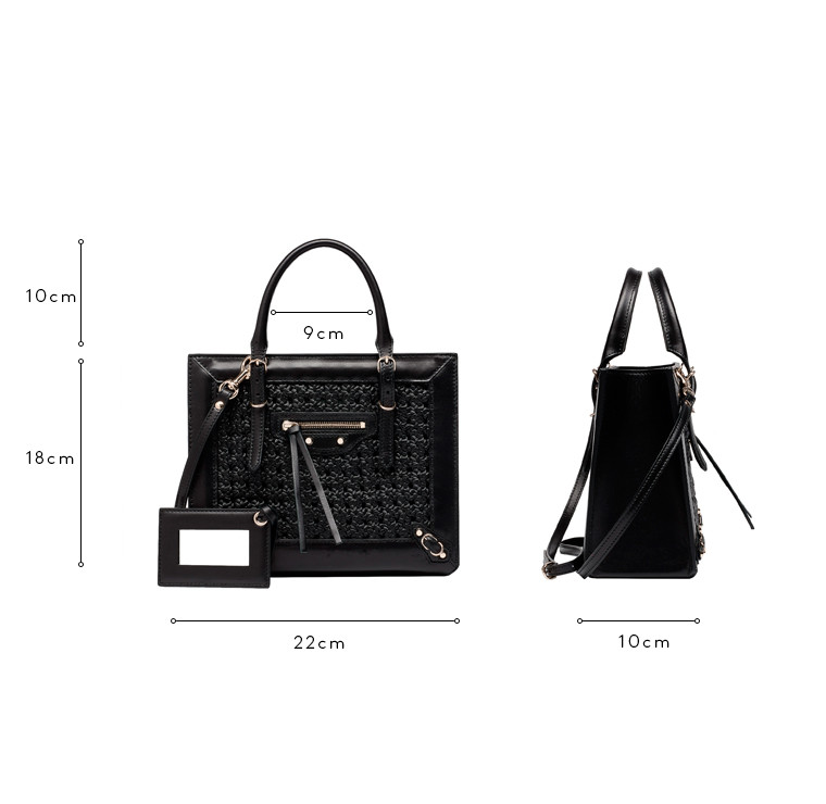 Balenciaga Weaving Papier Mini A4