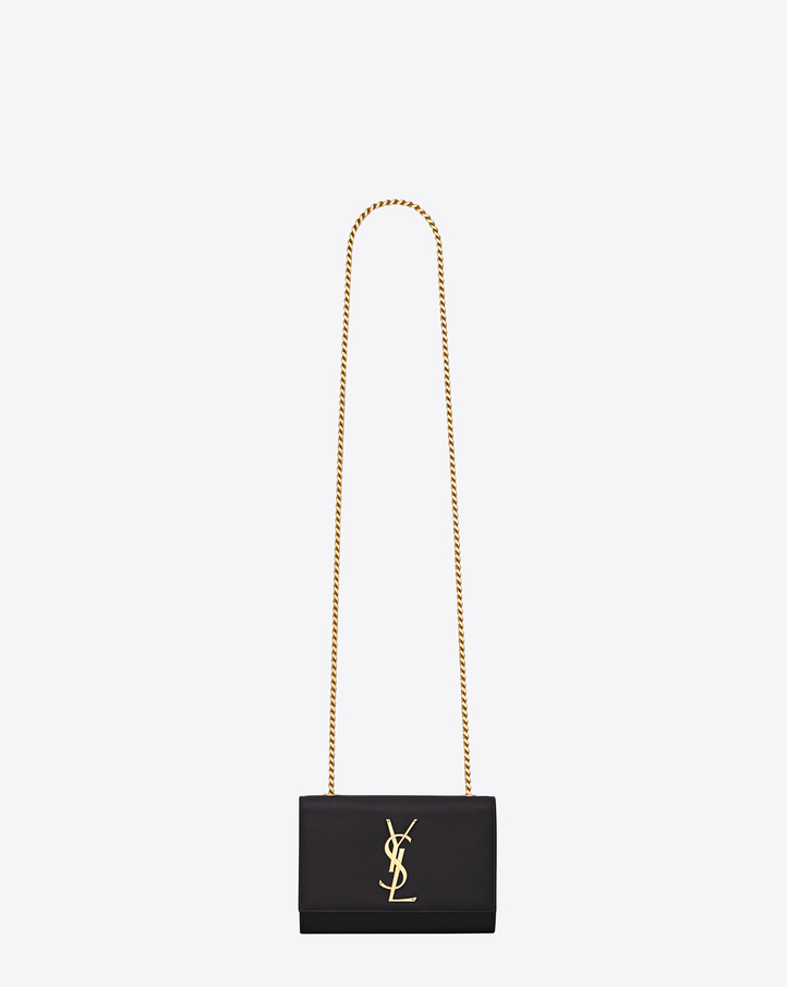 Saint Laurent Classic Small Monogram Saint Laurent Satchel In ...