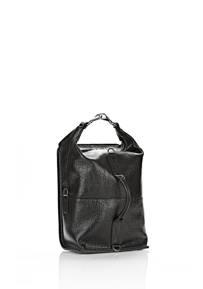 ALEXANDER WANG OPANCA BACKPACK IN BLACK WITH RHODIUM BACKPACK Adult 12_n_a