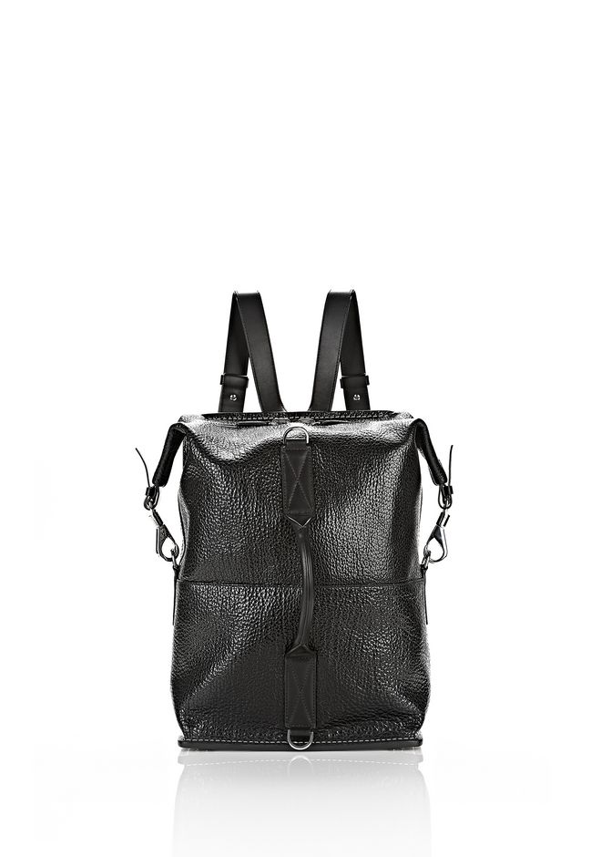 ALEXANDER WANG OPANCA BACKPACK IN BLACK WITH RHODIUM BACKPACK Adult 12_n_e